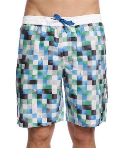 Quiksilver | Шорты Mini Dye Check Volley White