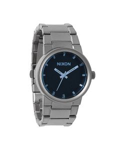 Nixon | Часы Cannon Gunmetal/Blue Crystal