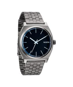 Nixon | Часы Time Teller Gunmetal/Blue Crystal