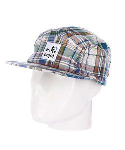Enjoi | Бейсболка Пятипанелька Plamper Hat Multi