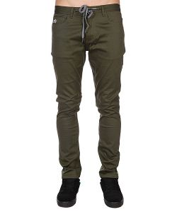 Enjoi | Джинсы Узкие Runway Model Slim Straight Army Green