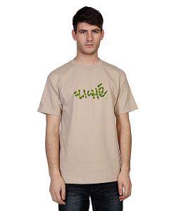 Cliche | Футболка Handwritten Leaf Camo Sand