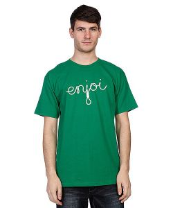 Enjoi | Футболка Script Kelly Green