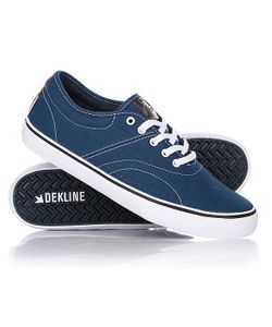 Dekline | Кеды Кроссовки Низкие Bixby Blue/White Cont