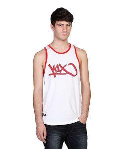 K1X | Майка Bootleg Tank Top White/Red
