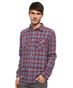 Fallen | Рубашка Cheyenne Flannel Ltd Burgundy/Blue