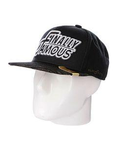 Flat Fitty | Бейсболка Finally Famous Black