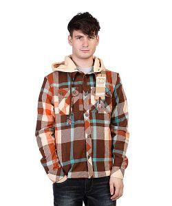 HoodieBuddie | Рубашка С Наушниками Woodsman Brown