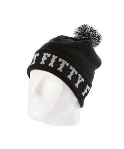 Flat Fitty | Шапка С Помпоном Ftfy Black