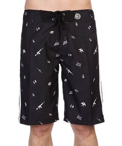 Metal Mulisha | Шорты Armed Boardshort Black