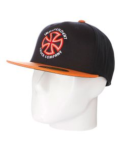 Independent | Бейсболка Flexfit Bauhaus Cross Flexfit Black/Orange