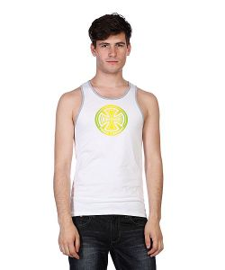 Independent   Майка Fountain Tank White/Heather Grey