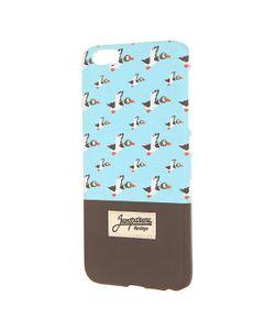 Запорожец   Чехол Для Iphone 6 Plus Дичь 86 Blue/Dark Brown