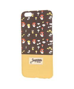 Запорожец   Чехол Для Iphone 6 Plus Грибочки Brown/Sand