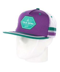 Truespin | Бейсболка С Сеткой True Spin Sport Trucker Purple/White