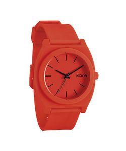 Nixon | Часы Time Teller P Neon Orange