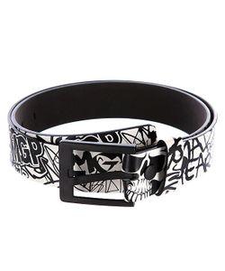 Mgp | Ремень Madd Pu Belt Black/White