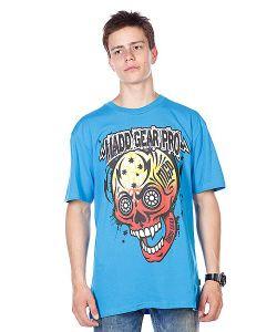 Mgp | Футболка T-Shirt Muerte Skull Blue