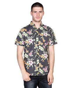 Globe | Рубашка Panama Shirt Black