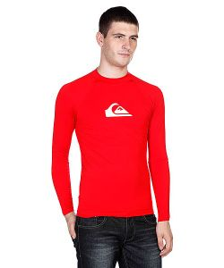 Quiksilver | Лонгслив All Time Ls Raglan Mid Neck Uni Red