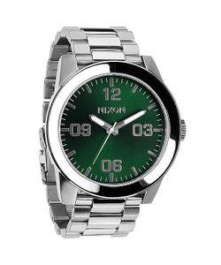Nixon | Часы Corporal Ss Green Sunray