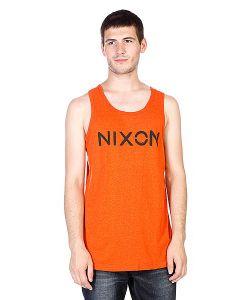 Nixon | Майка League Mock Twist Tank Orange
