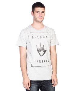 Afends | Футболка Threads Franchise Tee Sports Grey