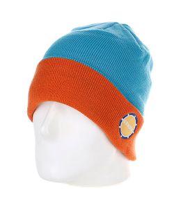 Armour   Шапка Park Beanie Blue/Orange