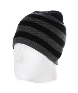 Urban Classics | Шапка 2 Stripe Beanie Black/Elephant