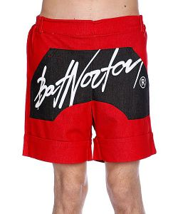 Bat Norton | Шорты Unisex Basic Shorts Red