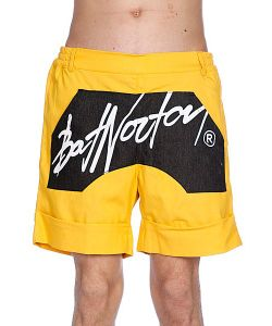 Bat Norton | Шорты Unisex Basic Shorts Yellow