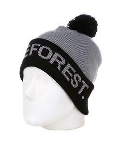 Terror | Шапка С Помпоном Dense Forest Black/Grey