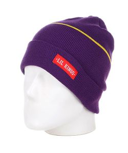 Lil Kings | Шапка Old Beanie Purple