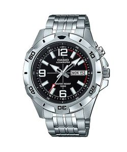 Casio   Кварцевые Часы Collection Mtd-1082d-1a Grey