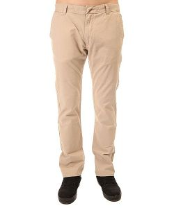 Quiksilver | Штаны Прямые Everyday Chino Plaza Taupe