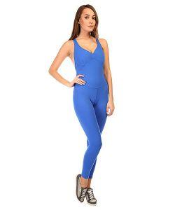 CajuBrasil | Комбинезон Для Фитнеса Женский New Zealand Overall Blue