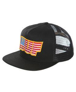 Huf | Бейсболка С Сеткой Usa Trucker Black