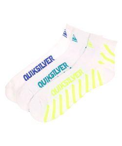 Quiksilver | Носки Средние Diagnal Stripe Qtr White