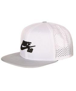 Nike | Бейсболка С Сеткой Sb Perfomance White