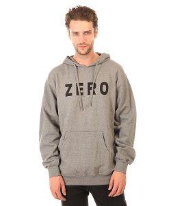 Zero | Толстовка Кенгуру Army Pullover Gunmetal Heather/White