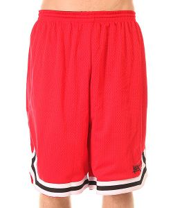 K1X | Шорты Классические Hardwood Big Hole Mesh Double Red
