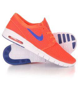 Nike | Кроссовки Sb Stefan Janoski Max Total Crimson/Racer Blue/White