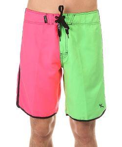 Lost | Шорты Пляжные Hot Pocket Pink/Green