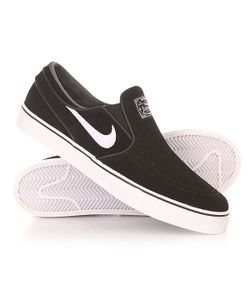 Nike | Слипоны Sb Zoom Stefan Janoski Slip Black/White