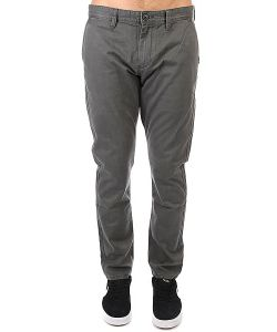 Quiksilver | Штаны Прямые Everyday Chino Dark Shadow