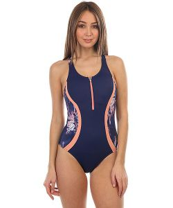 Roxy | Купальник Kir Zipped 1pc Depths