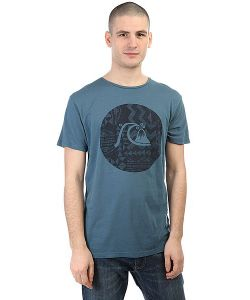 Quiksilver | Футболка Circlebubble Indian Teal