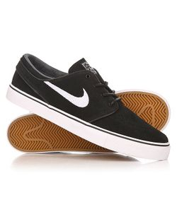 Nike | Кеды Кроссовки Низкие Zoom Stefan Janoski Og Black/White-Gum/Light Brown