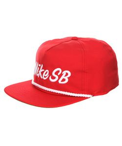 Nike | Бейсболка С Прямым Козырьком Sb Unstructured Dri Fit Pro Red