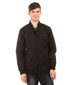 Huf | Бомбер Baseball Jacket Black